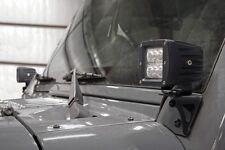 Jeep Lower Windscreen Light Mounts (07-18 JK Wrangler)