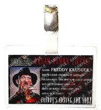 Nightmare On Elm Street Freddy Krueger ID Badge Cosplay Prop Costume Comic Con
