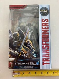 Transformers The Last Knight STEELBANE -Premier Edition -Deluxe Class NEW -00310