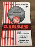 Sunderland v Charlton 1961/62