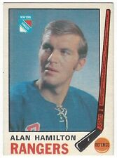 1969-70 OPC HOCKEY #192 ALAN HAMILTON 2ND YEAR - VG+/EX-