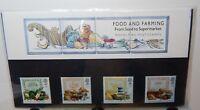 1989 Food & Farming Stamp Presentation Pack 197