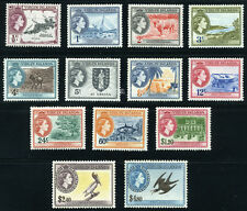 BR. VIRGIN ISLANDS 1956 SG 149-161 SC 115-127 MLH COMPLETE SET 13 STAMP