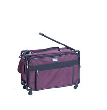 "Tutto 22"" Maximizer Collapsible Carry-On Suiter Luggage 4022RST (Burgundy)"