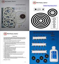 1964 Gottlieb World Fair Pinball Machine Tune-up Kit - Includes Rubber Ring Kit