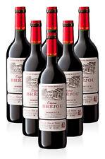 (20,79/l)2014 Chateau Bréjou Bordeaux Rotwein AOC - 6 x 0,75l Original-Holzkiste