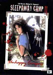 Sleepaway Camp 2 1988 Horror - Pamela Springsteen, Renée Estevez, Tony Higgins