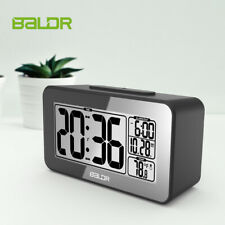 BALDR B0326 Digital Smart Alarm Clock LCD IndoorTemperature Snooze Calendar