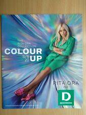 DEICHMANN Polish Promo Booklet / Brochure RITA ORA on cover