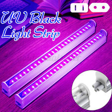 2X 30CM UV Schwarzlicht LED Lichtleiste Bühnenbeleuchtung Lichteffekt Wash Licht