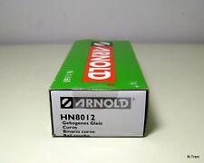 Arnold N HN8012 - Confezione con 10 binari curvi da 15°, raggio R4=430 mm.