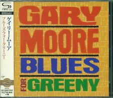 GARY MOORE BLUES FOR GREENY JAPAN RMST 2015 SHM CD +2 GIFT PERFECT OUT OF PRINT!