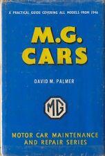 MG Cars Pearson Owners Handbook 1946-66 TC TD TF MGA Midget MGB Y YB ZA ZB 1100