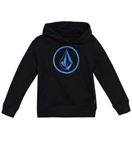 Volcom Boy's Pullover Hoodie STONE - BLK - Large(6)- NWT