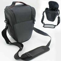 Digital Camera Shoulder Strap Case DSLR Waist Storage Bag For Nikon Canon Sony