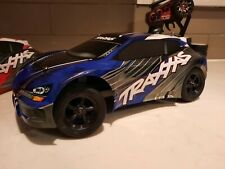 1/16 Traxxas VXL Rally Car + Transmitter, Two extra bodies, Tires, CLEAN!!