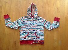 Bobby Jack Monkey Hoodie / Sweatshirt Size 14 Multi Color  with Studs
