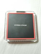 New Qi Wireless Fast Charger Dock Charging Pad Receiver For iPhone & Samsung Dev