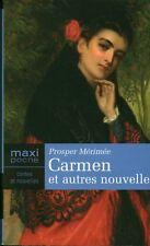 Livre Carmen et autres nouvelles Prosper Mérimée book