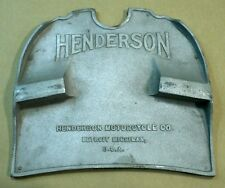 1915 Henderson Motorcycle Foot Board Raw Aluminum Casting - Antique Reproduction