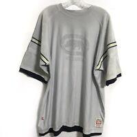 KNIT Ecko Unltd Men's Gray Hemmed Up Jersey Tee T-Shirt XL XLarge Short Sleeve