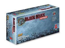 Black Maxx Nitrile Exam Gloves 25 SETS Gloves Prepper Disaster Doomsday