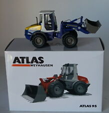 NZG 1/50 Scale 640/03 Atlas 95 Weyhausen Wheel Loader Diecast Construction Model