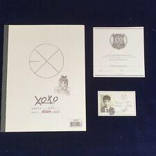 EXO-M Wolf Album Rare Photocard Cd Smtown Kpop Snsd Bts Twice Shinee Suju Fx