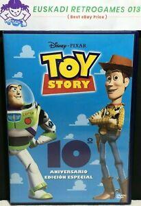 Toy Story // DVD - PAL 2 // Edición Especial 10ª Aniversario - 1995