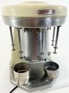 RARE MULTIMIXER 9B Vintage Prince Castle 5 Head Commercial Milkshake Maker WORKS