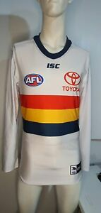 2018 Adelaide Crows AFL CLASH Player Issue Guernsey Long Sleeve