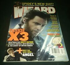 Wizard: The Comics Magazine #174 APR 2006 April X-men X3 Wolverine Logan EX+