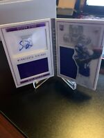 2015 Panini Playbook Rookie Playbook Booklet Autograph 189/199 Stefon Diggs