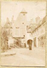 Moulins . Hôtel Morel  . photo ancienne 1900 ( Allier )