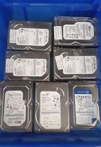 "3.5"" SATA DESKTOP PC HDD Hard Drive 160GB, 250GB, 320GB VARIOUS BRANDS"
