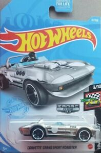2021 Hot Wheels Corvette Grand Sport Roadster Zamac Walmart Exclusive