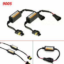 2x 9005 LED DRL Fog Light Canbus Decoder Error Anti Flicker Flash Error Canceler