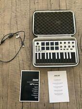 New ListingAkai Professional Mpk Mini Mkii 25 Key Keyboard Midi Controller Black and White