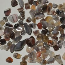 1/2lb 9-20mm  Persian Agate GRAVEL tumbled bulk quartz HEALING REIKI s142
