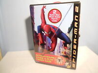 "SPIDERMAN COFFRET DIORAMA 2 PERSONNAGES TOY BIZ ""RARE"""