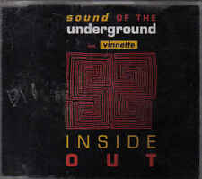 Sound Of the Underground-Inside Out cd maxi single