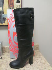 Kelsi Dagger Willi Leather Boots Black 9 M  New with Box
