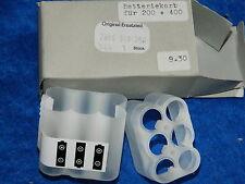 BATTERIEKORB 200 + 400 appareil photo VINTAGE support 6 batterie HOLDER Battery