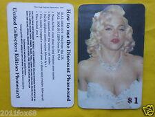 schede telefoniche cartes telephone 1998 phone cards $ 1 madonna telefonkarten