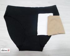 6 Slip Ilary 0617 in microfibra Nudo Donna Ragazza Vita alta Tg S/m