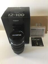 Olympus m.zuiko ED 12-100mm F/4.0 Pro IS Lens