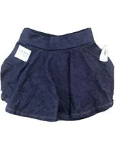 Old Navy Toddler Swing Skirt Soft Denim 4T New