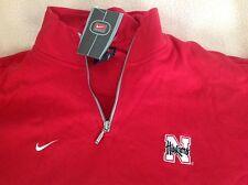 New mens Nike Nebraska Cornhuskers long sleeve shirt top medium vintage classic