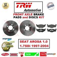 Für Seat Arosa 1.0 1.7SDi 1997-2004 Vorderachse Bremsbeläge + Scheibe Satz 239mm