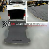 VW TRANSPORTER T5 (2013-2015) SWB HEAVY DUTY FLOOR LOAD LINER (GREY/BLACK) 573